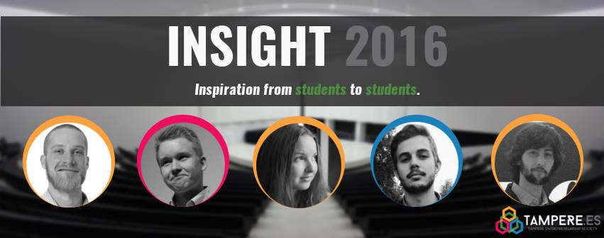 Tampere Es: Insight 2016 banner