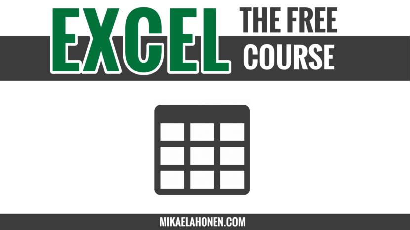 Tables, sort and filter in Excel