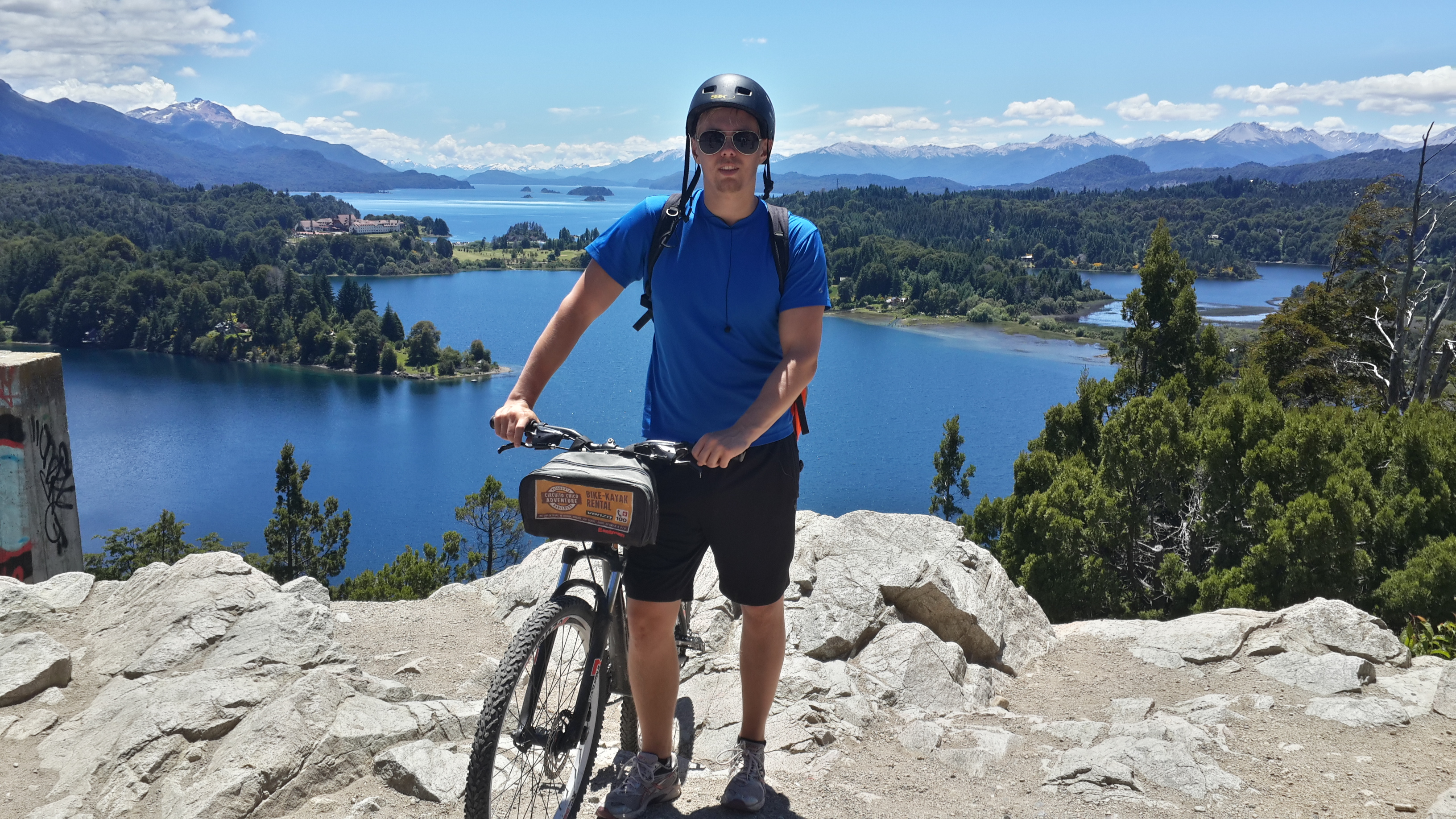 Circuito Chico Bariloche : Traveling through patagonia around the world trip days 30.11.2016