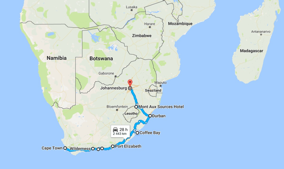 Robberies in south africa around the world trip days 9 1 - How far is port elizabeth from cape town ...