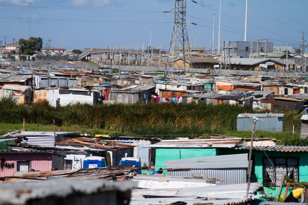 This is how townships look like outside of Cape Town. Image from Flickr, Khayelitsha.