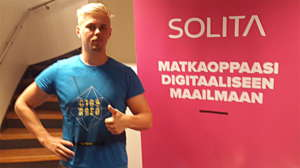 Mikael Ahonen, Solita, Data engineer.